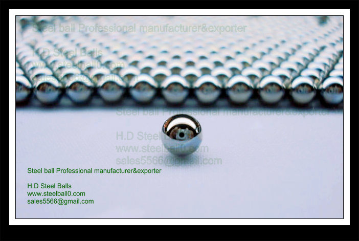 Zinc plated steel ball