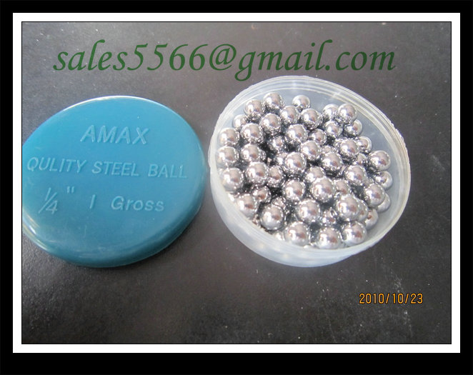 AMAX brand packing carbon steel ball